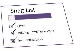 snag list format